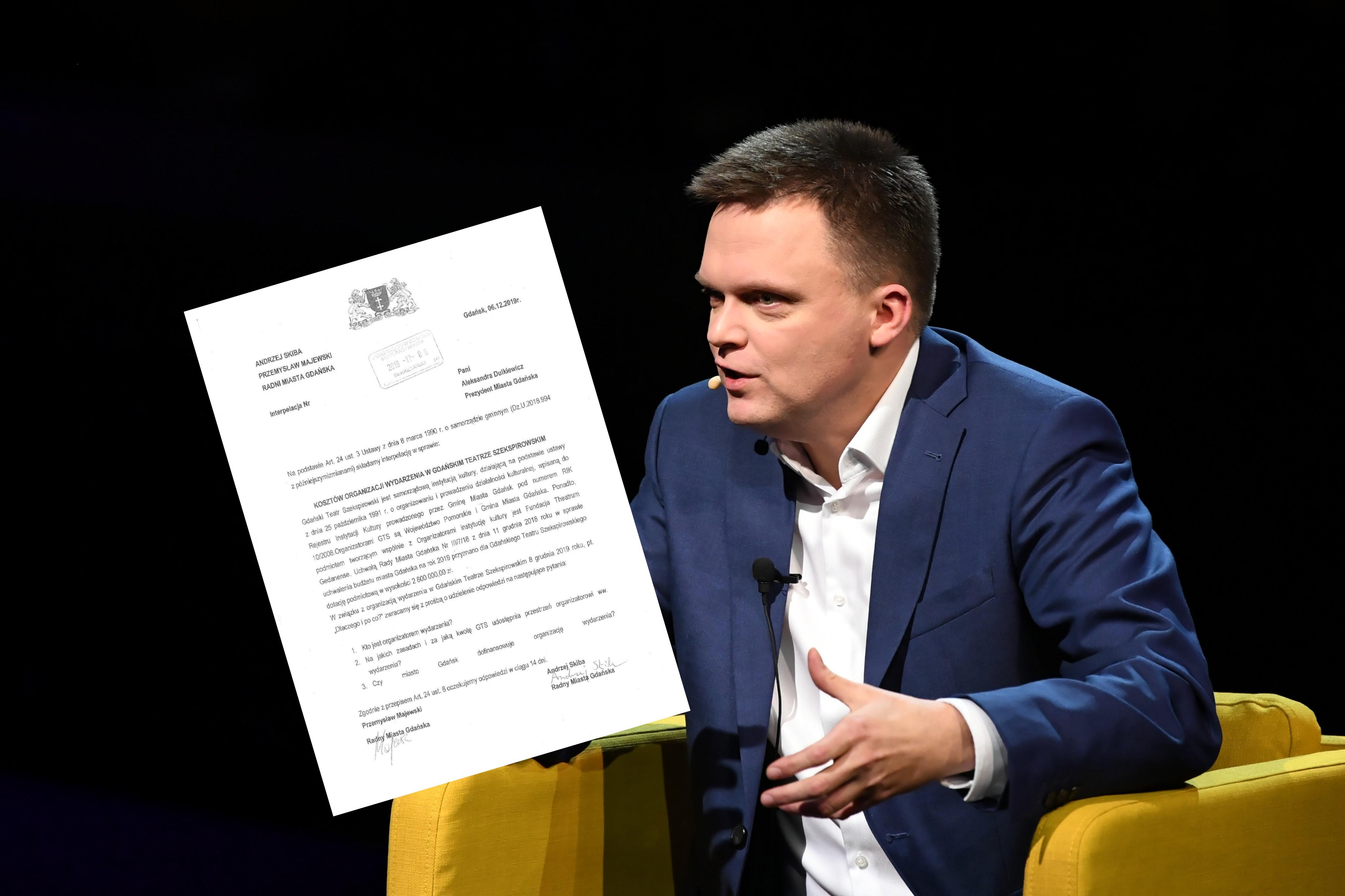 Wybory prezydenckie 2020. Radni PiS pytają o finansowanie konwencji Szymona Hołowni