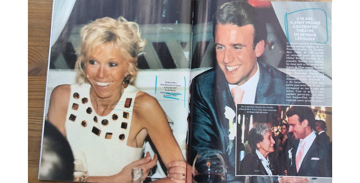 """Tygodnik """"Paris Match"""" opublikował zdjęcia ze ślubu prezydenckiej pary z 2007 roku"""