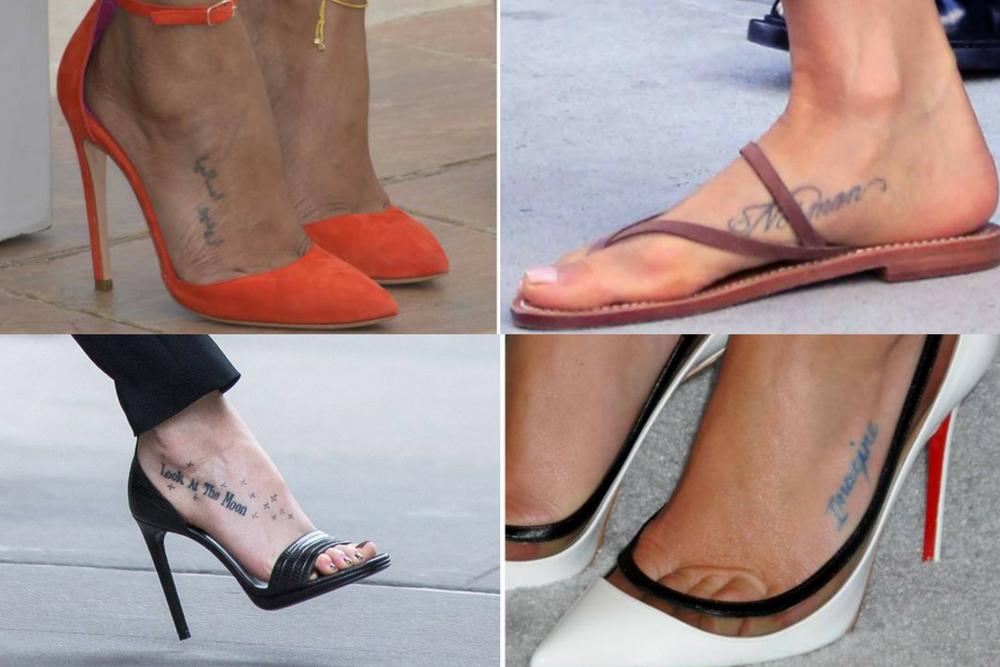 Wzory Tatuaży Na Stopę Wp Kobieta
