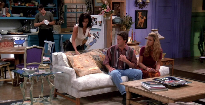 """Salon Rachel Green i Moniki Geller, """"Przyjaciele"""""""