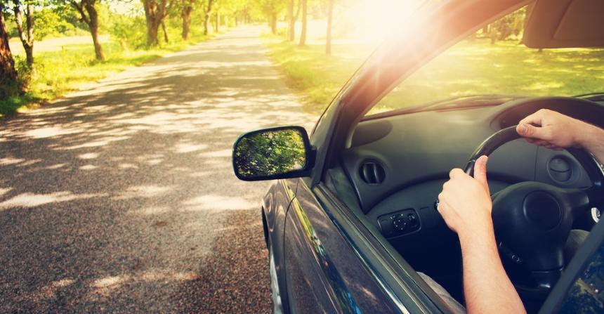 Promieniowanie może nas również dosięgnąć w samochodzie