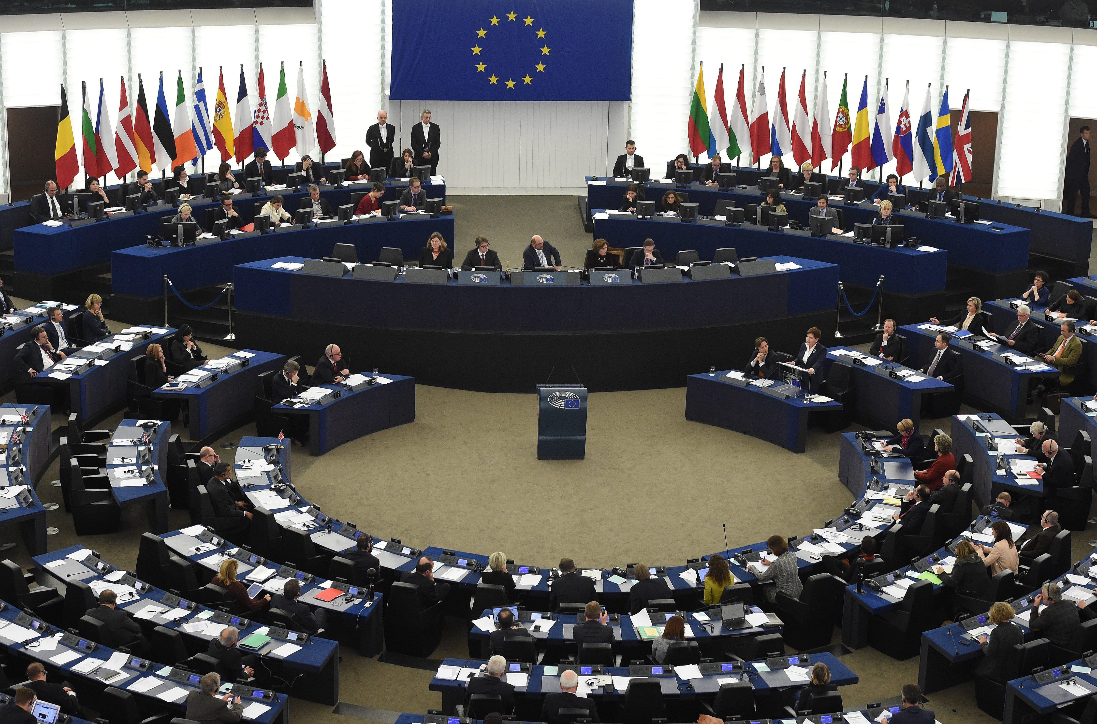 Znalezione obrazy dla zapytania parlament europejski