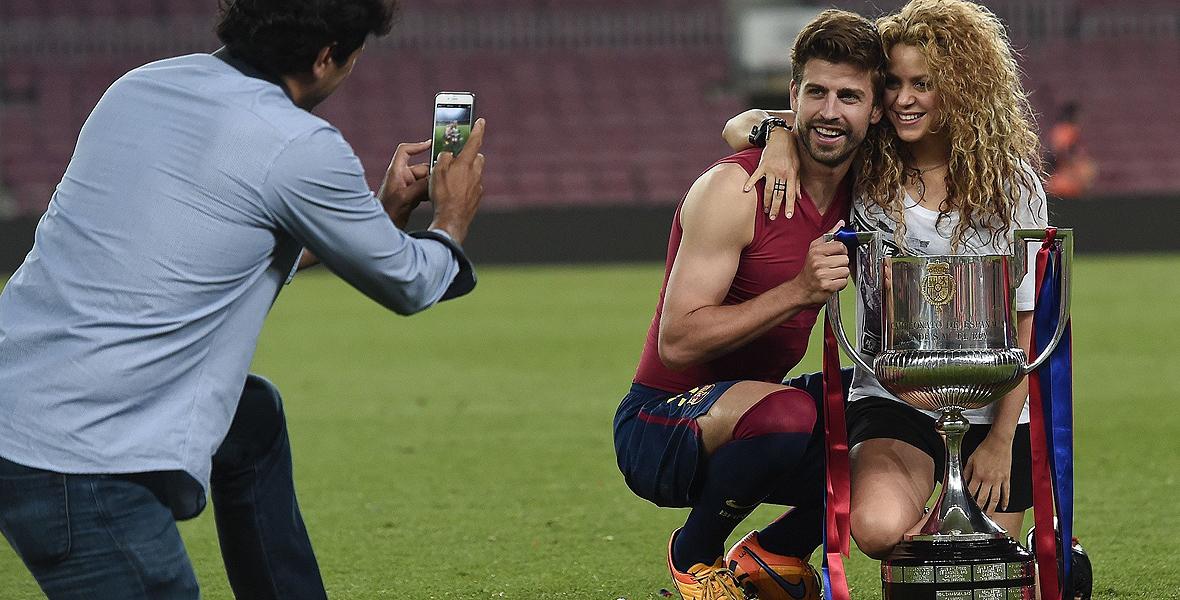 Shakira i Pique - piękna z nich para