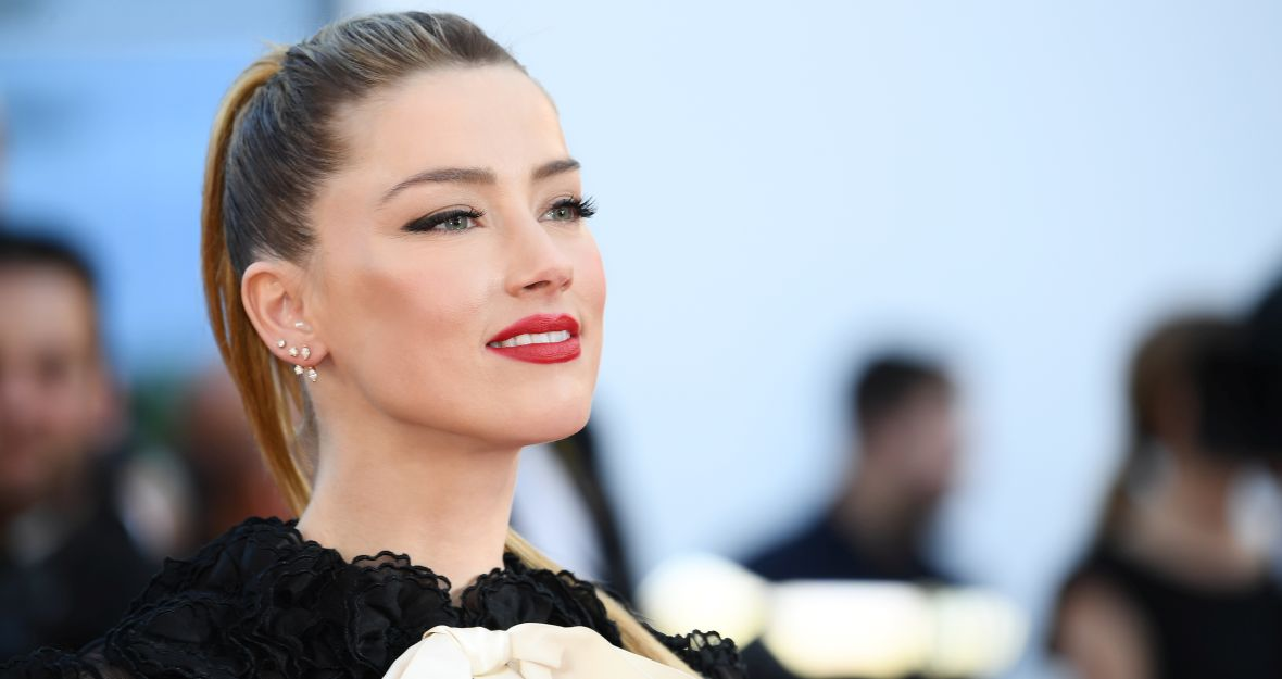 Ambasadorka L'Oreal Paris Amber Heard podczas festiwalu Cannes 2018.