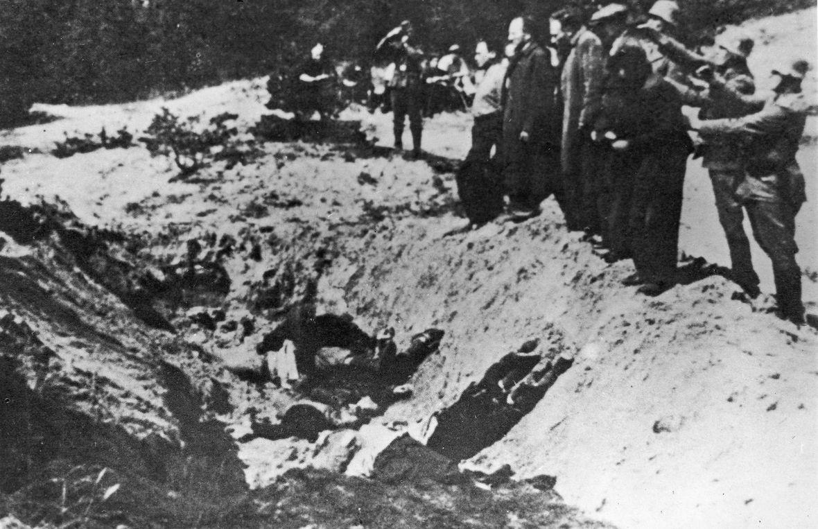 Egzekucja Żydów, Warszawa, rok 1941