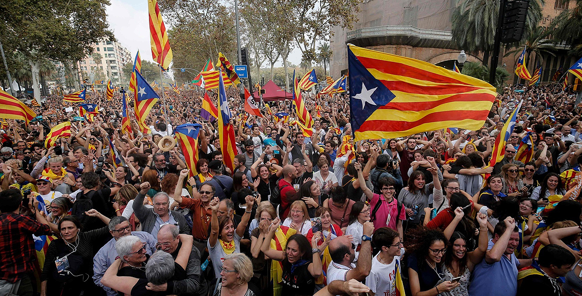 Konflikt katalońskich separatystów z Madrytem