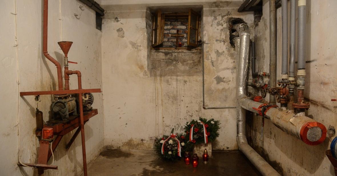 Dawna cela śmierci w więzieniu mokotowskim w Warszawie