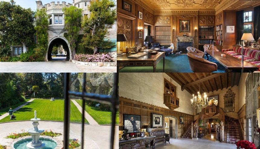 Hugh Hefner był właścicielem jednego z najdroższych domów gwiazd