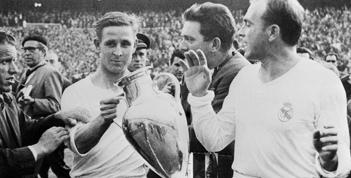 Legendarny piłkarz Realu Alfredo di Stefano
