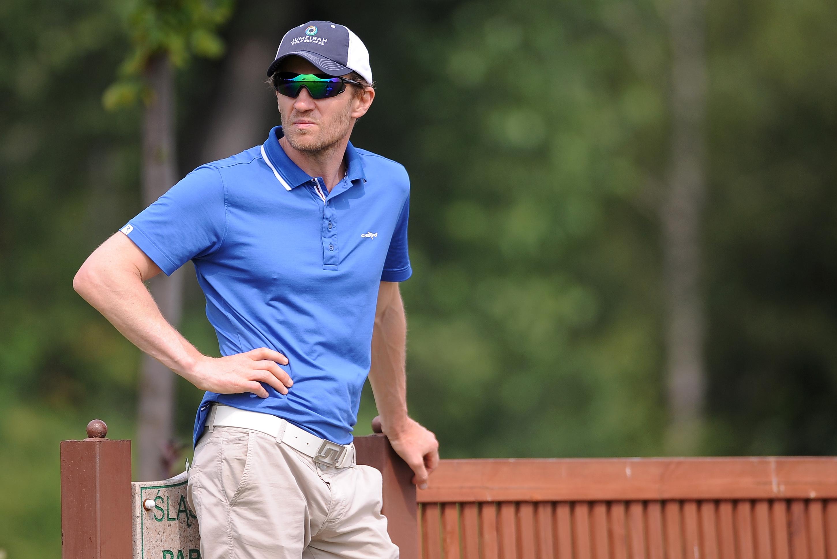 Mariusz Czerkawski podczas Golf VII Golf Cup Silesia Business & Life w Siemianowicach Śląskich.