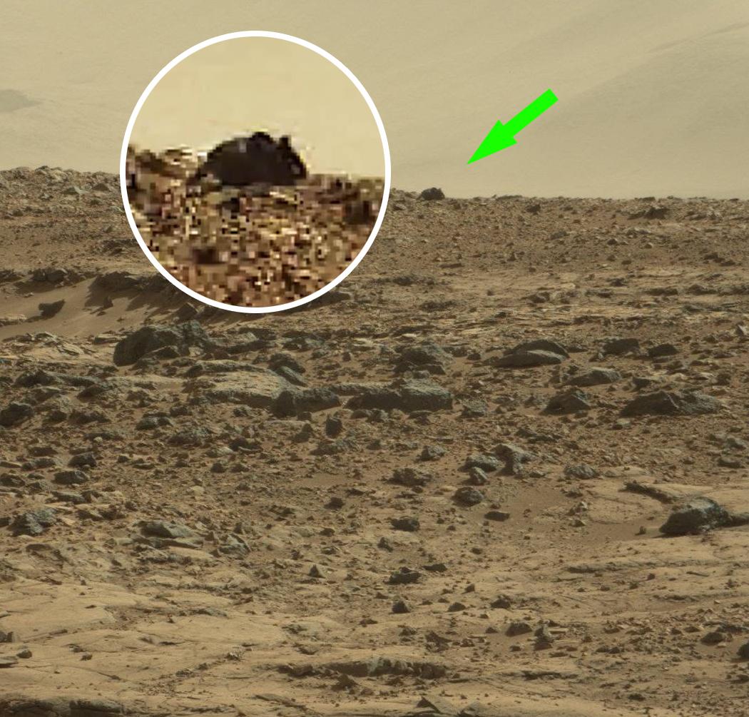 Co to jest? Cały internet wpatruje się w najnowsze zdjęcie z Marsa ...