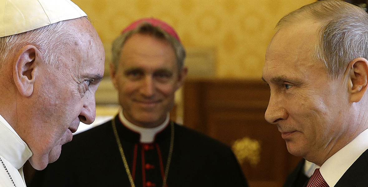 Władimir Putin spotkał się z Papieżem Franciszkiem