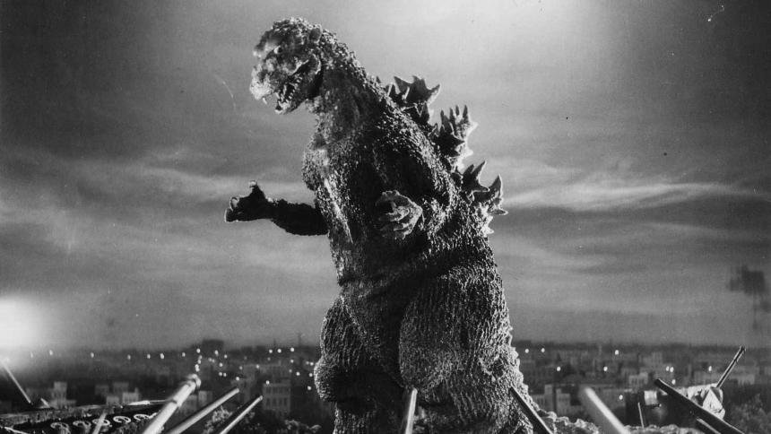 """""""Godzilla"""", reż. Ishirô Honda, 1954, Japonia"""