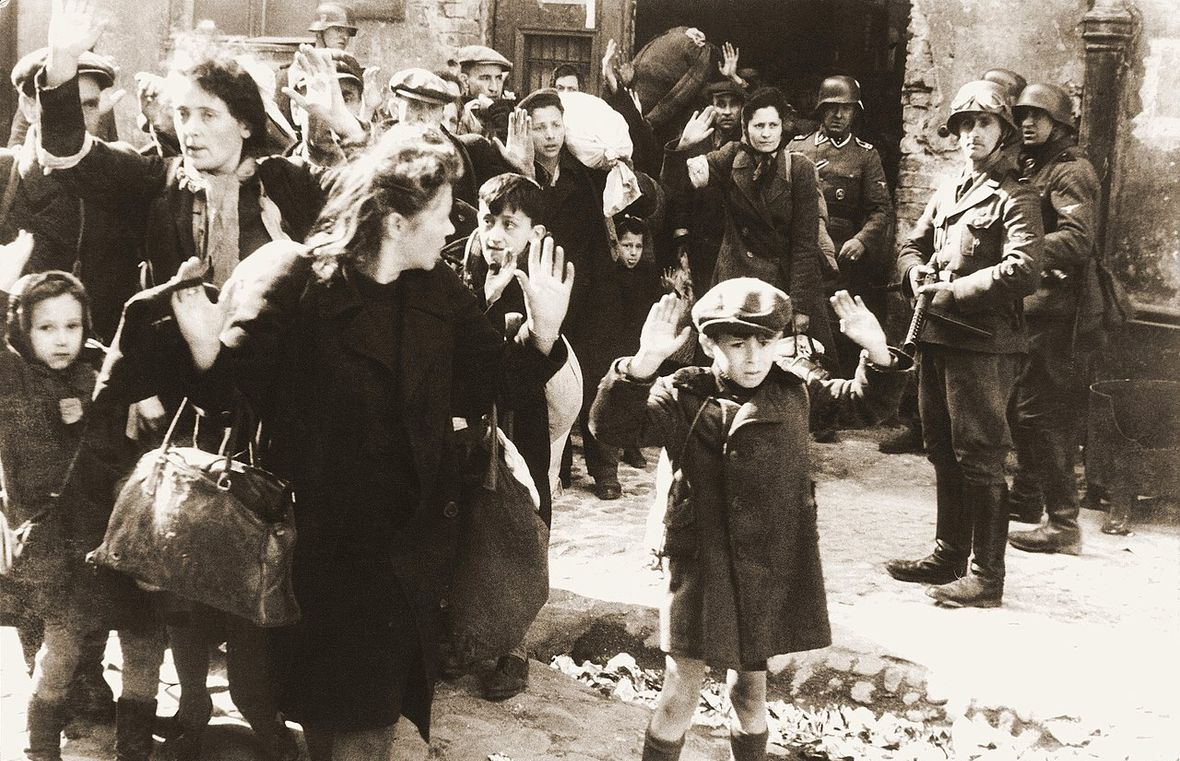 Po powstaniu w getcie warszawskim