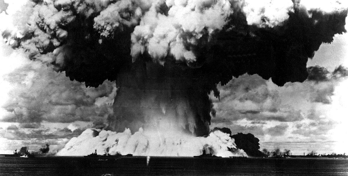 Wybuch bomby atomowej na atolu Bikini