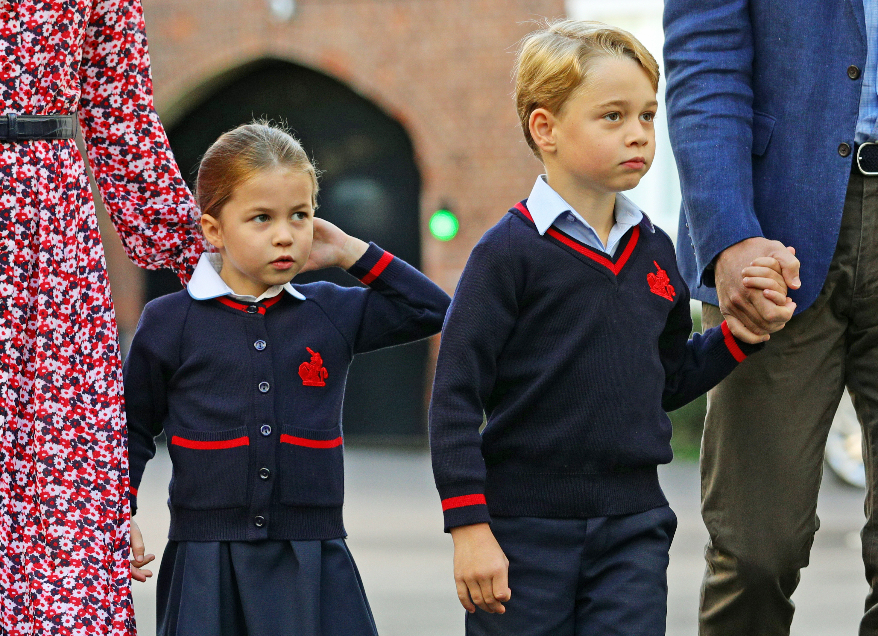 Księżniczka Charlotte poszła do szkoły. Ekspertka czytała z ruchu ...