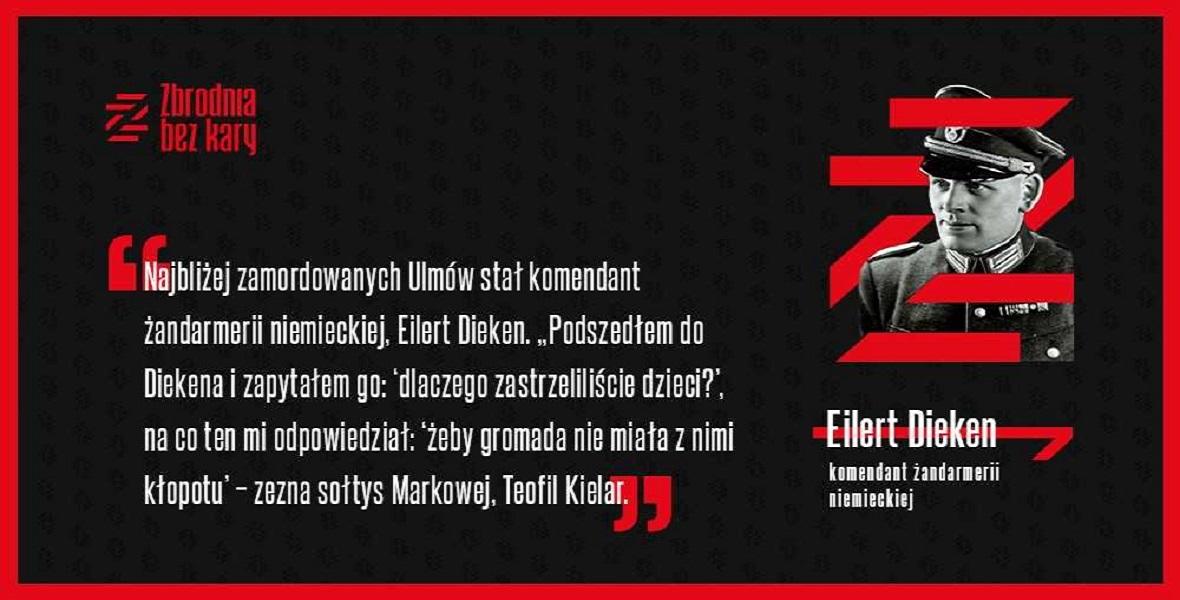 Eilert Dieken nigdy nie odpowiedział za swoje zbrodnie