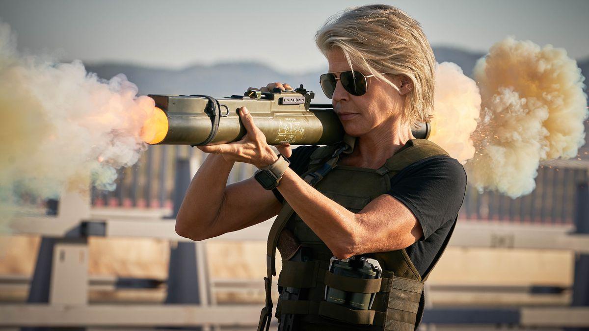 """Jako Sarah Connor w nowym """"Terminatorze"""""""