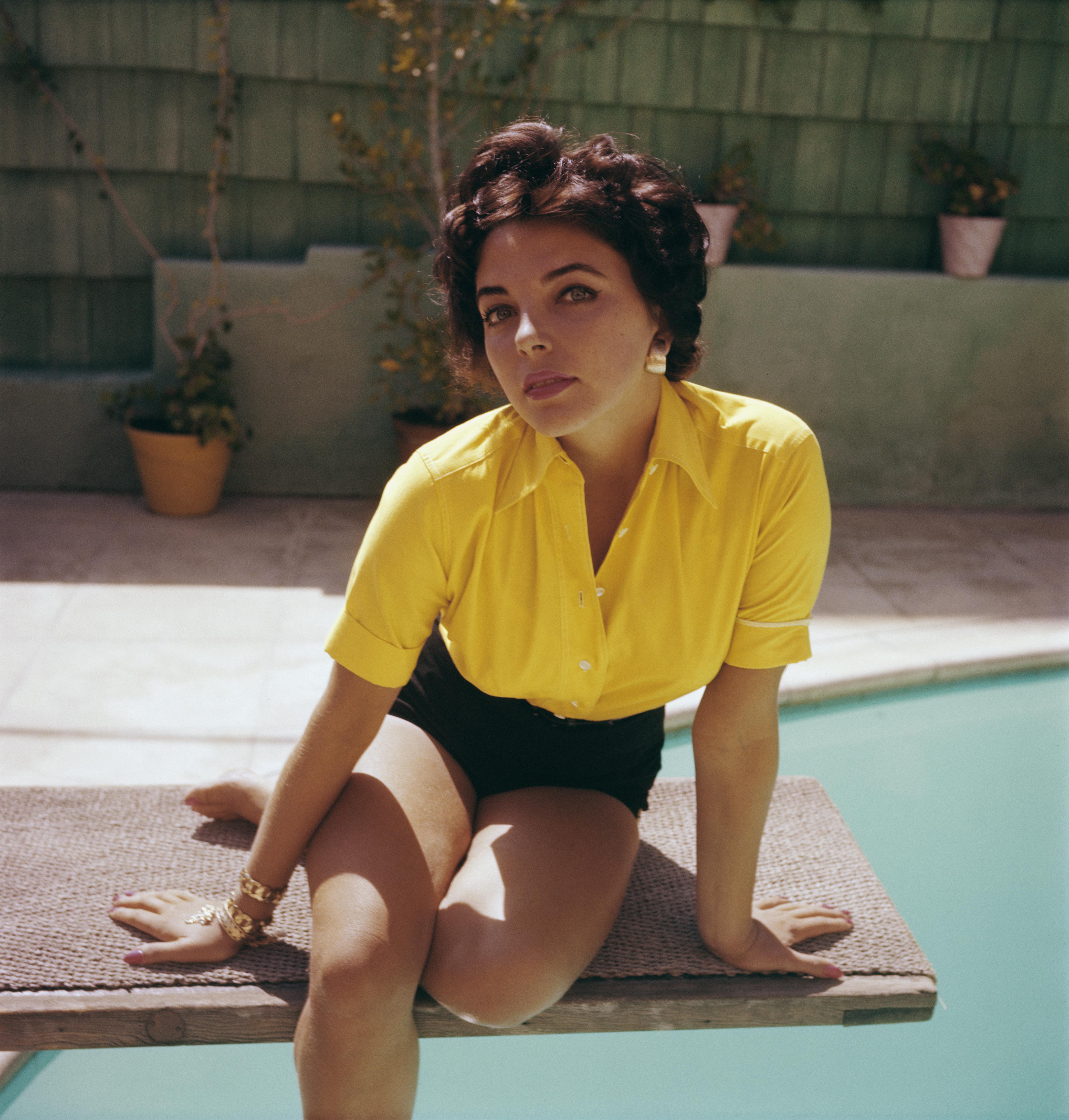 Joan Collins w latach 60.