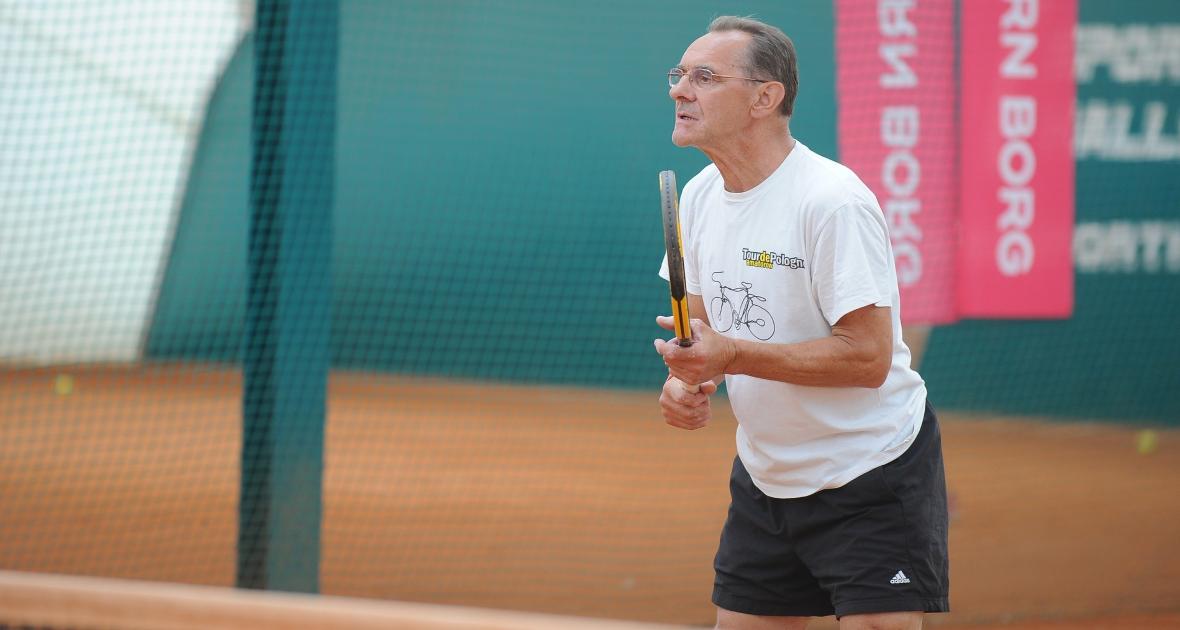 Tenis to wielka pasja Szurkowskiego