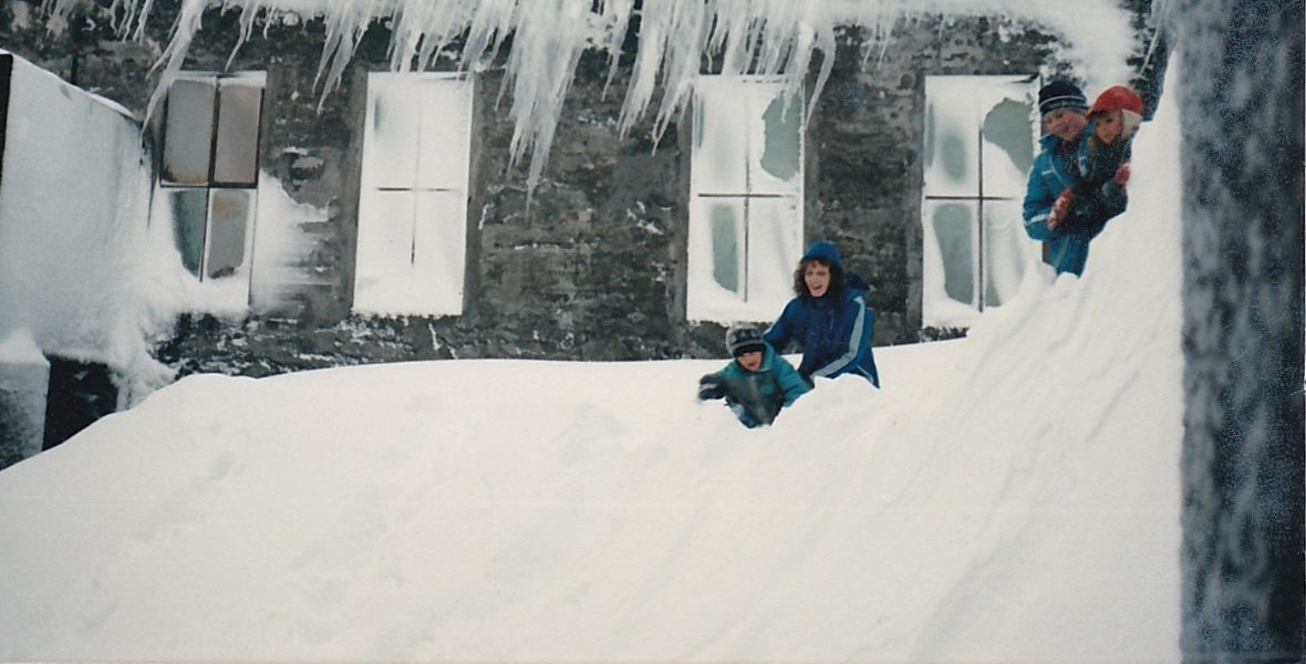 Zima w Djupavíku