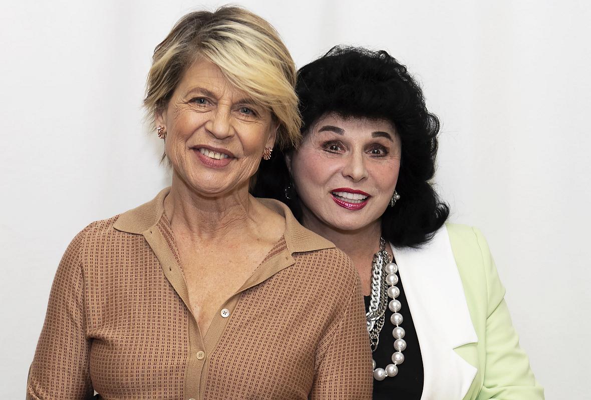 Linda Hamilton i Yola Czaderska-Hayek