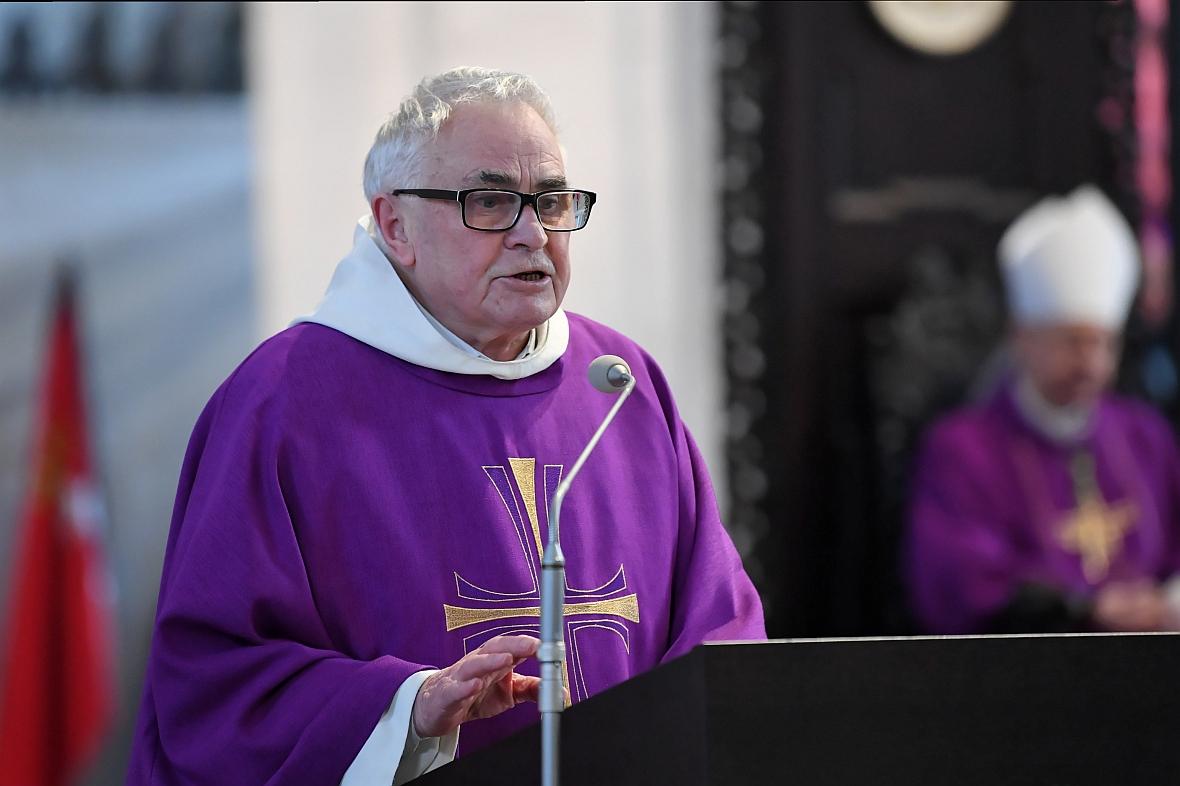 Przemówienie o. Ludwika Wiśniewskiego podczas uroczystości pogrzebowych prezydenta Gdańska