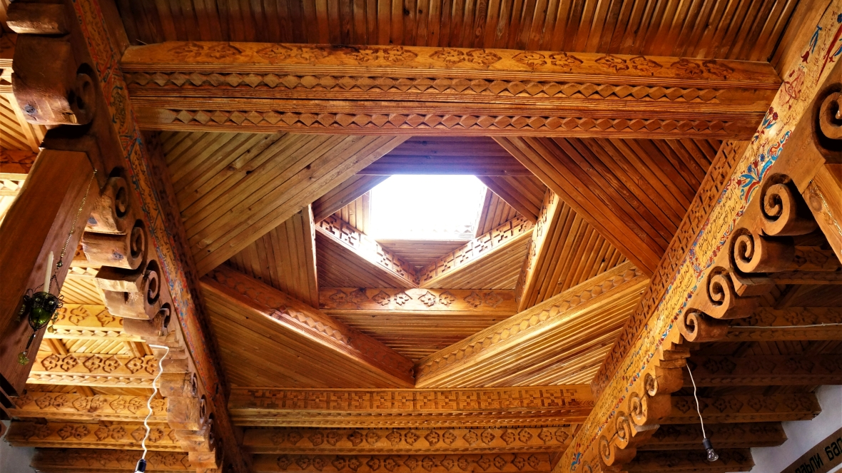 Wnętrze wachańskiego domu