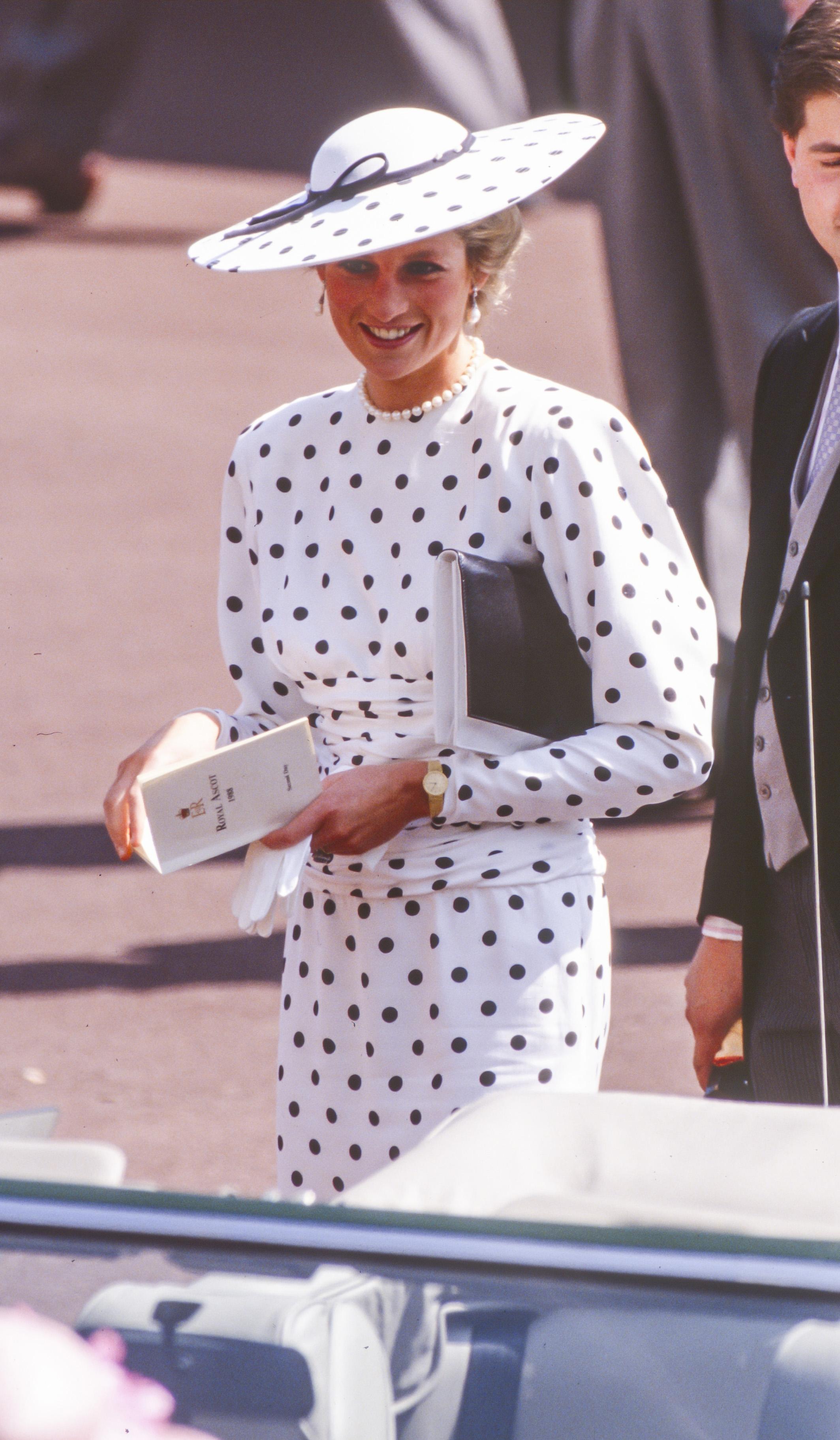 Księżna Diana w 1988 r.