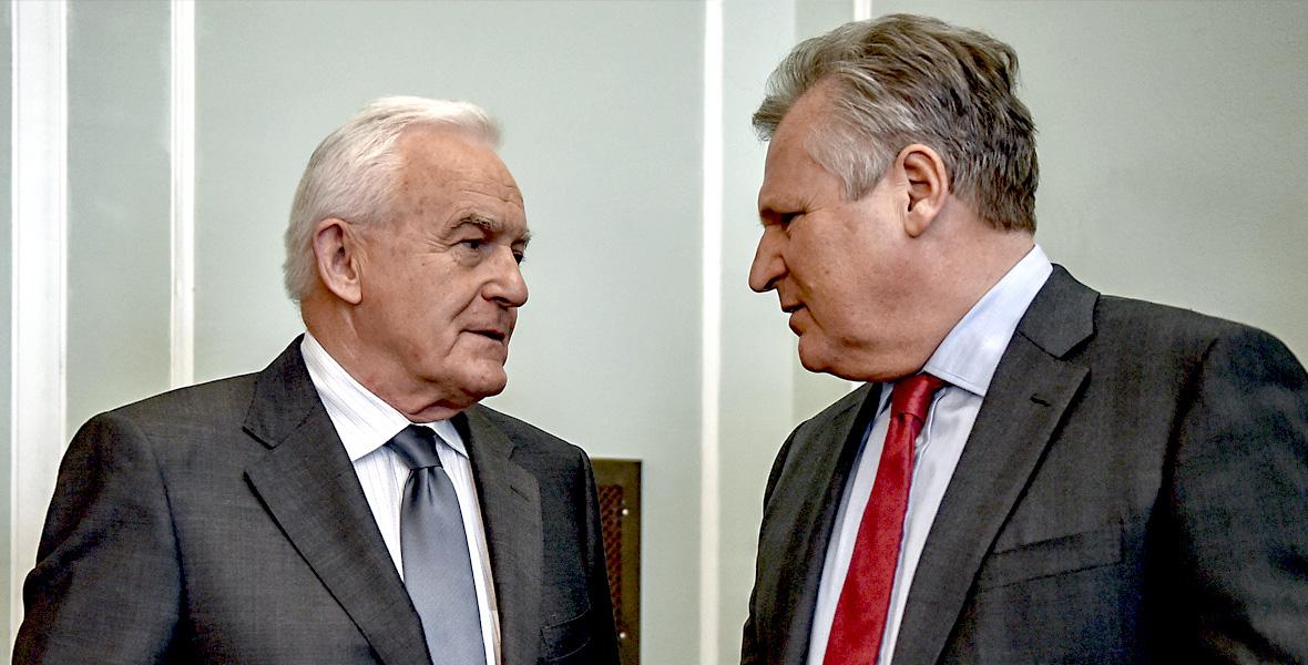 Leszek Miller i Aleksander Kwaśniewski